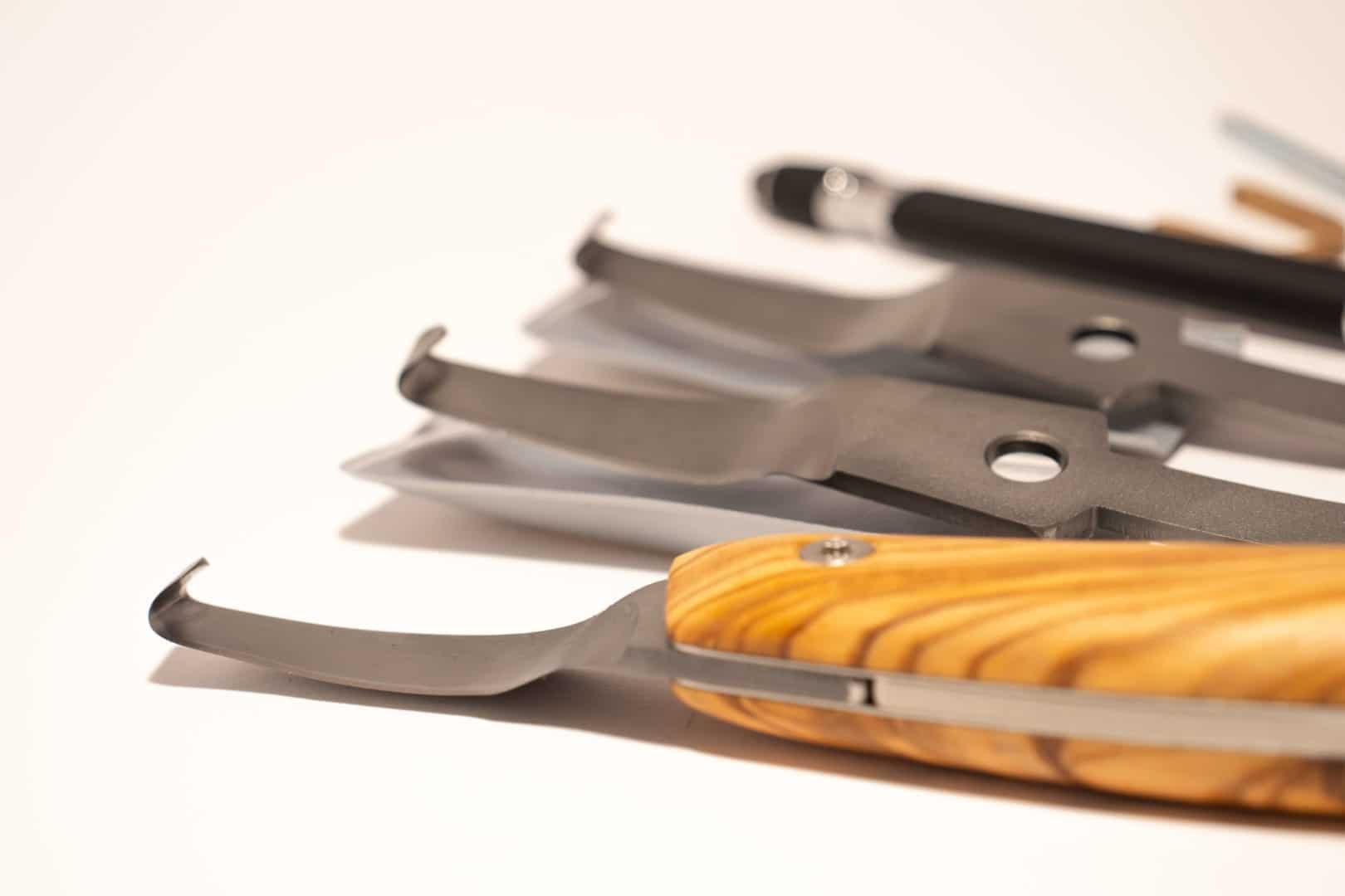 Luwex Drop Blade Set - Blade Handle Close Up