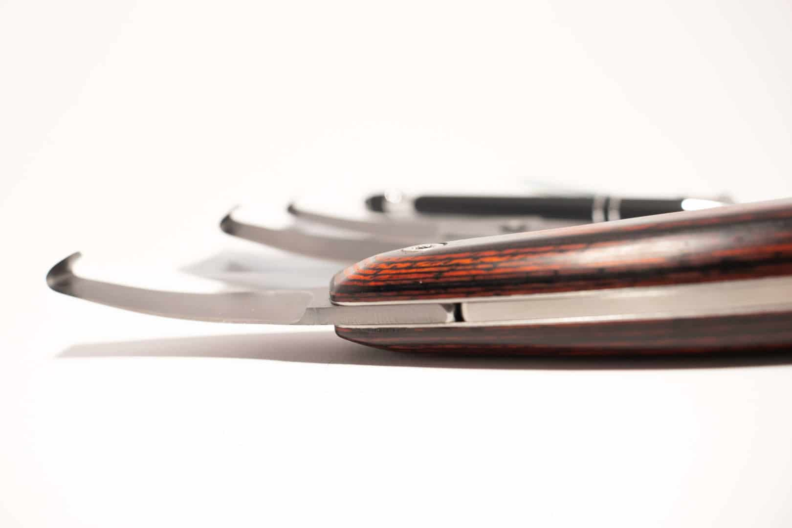 Luwex Straight Blade Set - Blade Close Up